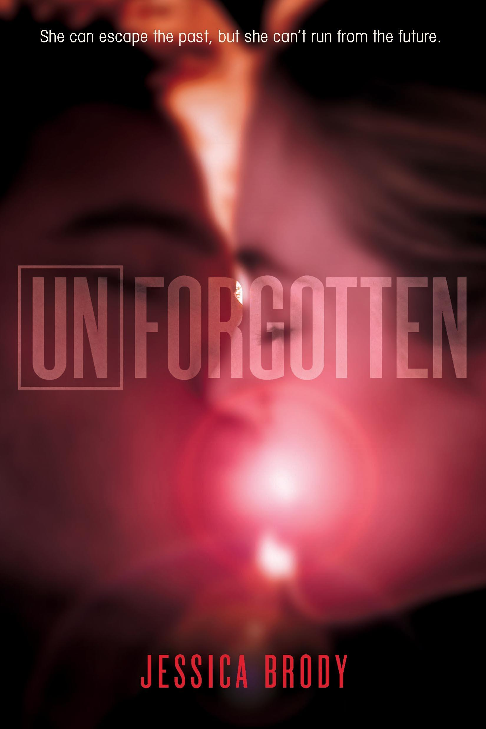 http://www.amazon.com/Unforgotten-Unremembered-Jessica-Brody/dp/0374379904/ref=tmm_hrd_title_0?ie=UTF8&qid=1396358697&sr=1-3