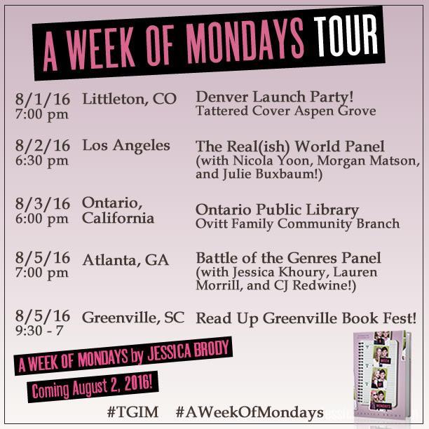 A Week of Mondays - Full Tour