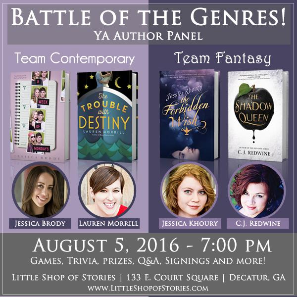 Battle of the Genres - Event Graphic