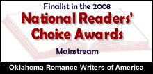 national reader's choice award finalist
