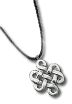 Eternal Knot necklace.fw