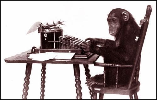 monkey-typewriter