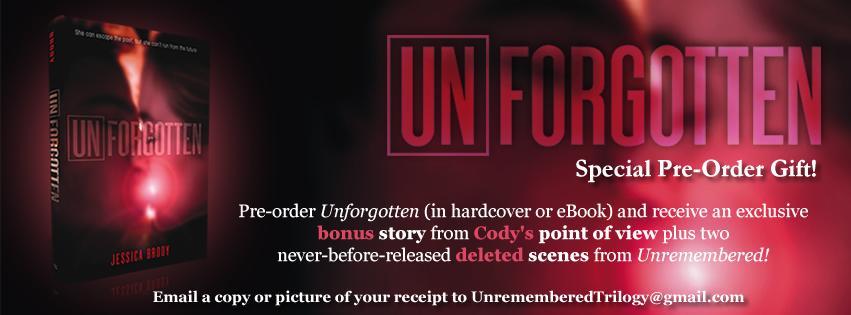 Unforgotten Pre-Order Campaign