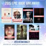 2015 Epic Book Giveaway!