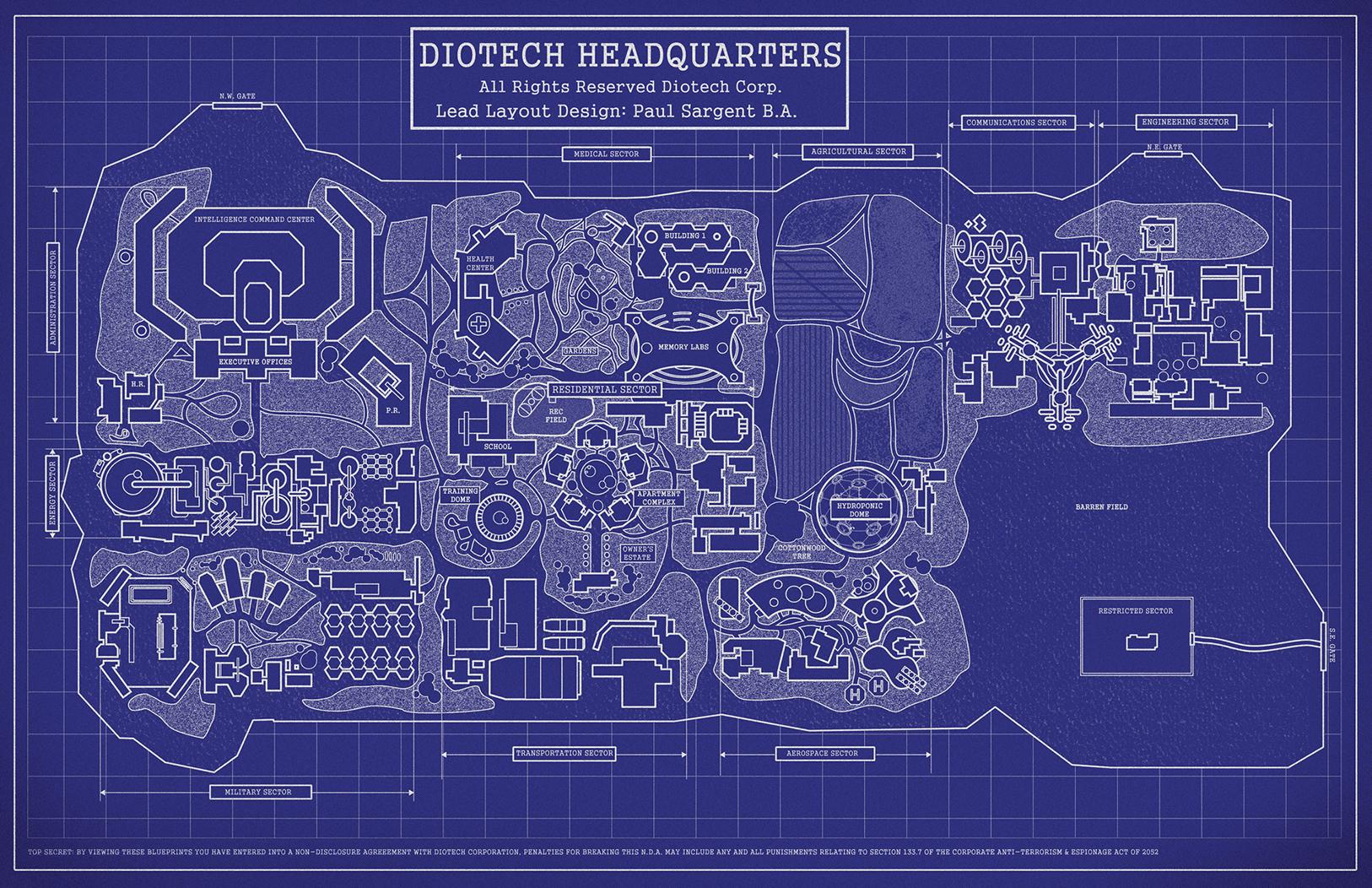 Jessica brody confiscated secret blueprints for the diotech compound diotechmap web malvernweather Gallery