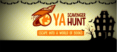 YA Scavenger Hunt Fall 2016 banner