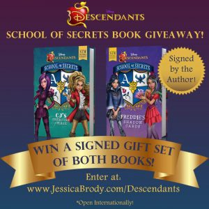 Descendants School of Secrets Book Giveaway!