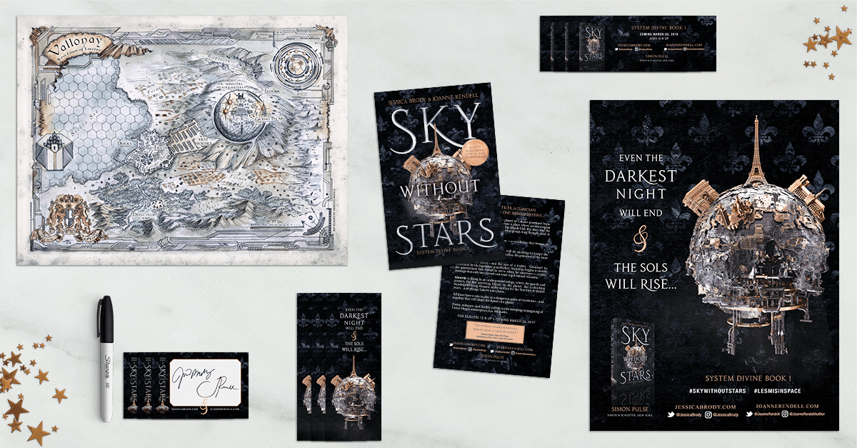 Sky Without Stars Pre-Order Gifts