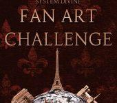 System Divine Fan Art Challenge - Win an ARC of BETWEEN BURNING WORLDS!
