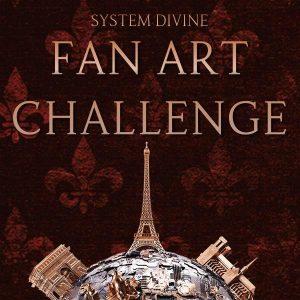 System Divine Fan Art Challenge - Win an ARC of BETWEEN BURNING WORLDS!